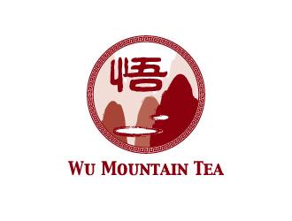 Wu Mountain Tea logo design