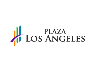 Plaza Los Angeles logo design