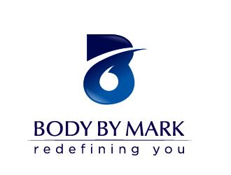 BODY BY MARK logo design