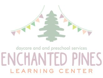 Enchanted Pines Learning Center logo design