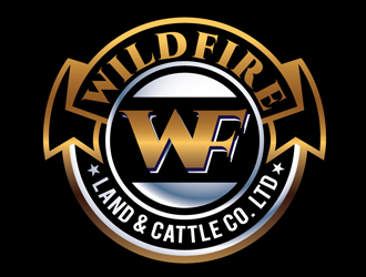 Wildfire Land & Cattle Co. Ltd. logo design