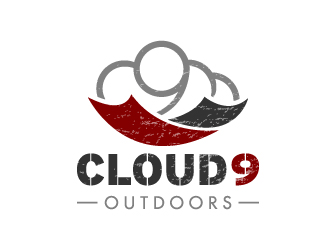 Cloud9 Outdoors logo design