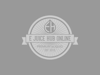 E-Juice Hub Online logo design
