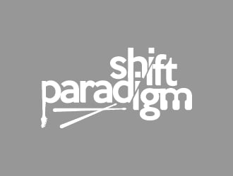 Paradigm Shift logo design