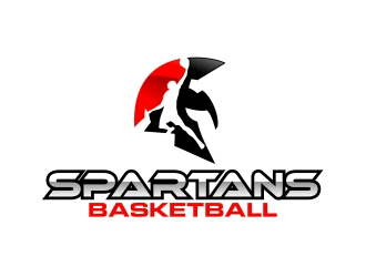 SPARTANS or SPARTANS Basketball logo design - 48HoursLogo.com