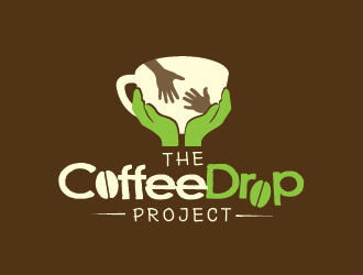 The Coffee Drop Project logo design