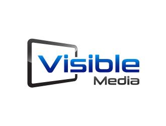 Visible Media logo design