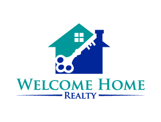 Welcome Home Realty logo design