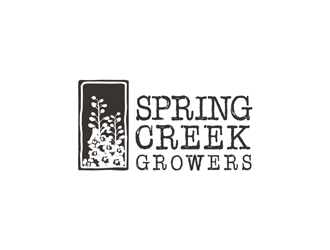 Spring Creek Growers logo design