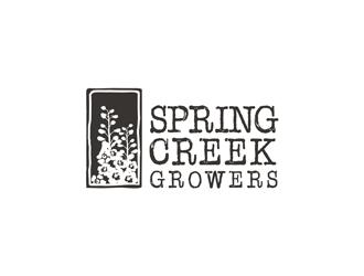 Spring Creek Growers logo design