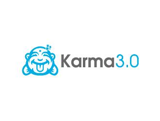 Karma 3.0 logo design