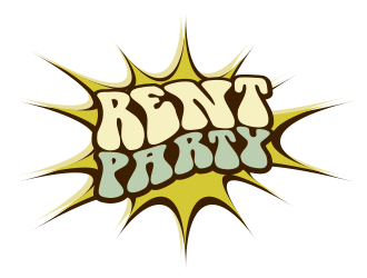 RENT PARTY logo design