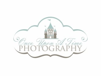 Once upon a time photography logo design