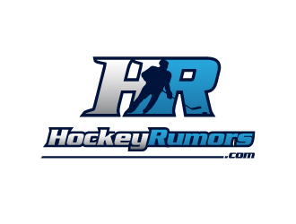 Hockey Rumors logo design