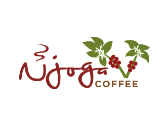 Njoga Coffee logo design