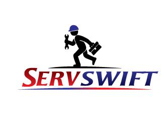 ServSwift logo design