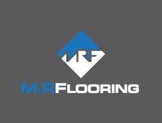 M.R Flooring logo design