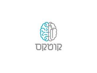 קורטקס logo design