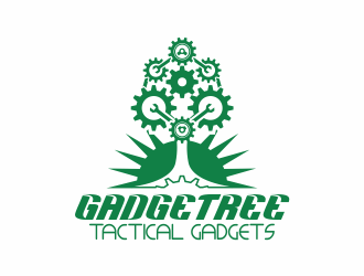 Gadgetree logo design