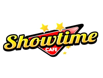 Showtime Cafe logo design