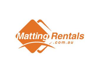 Matting Rentals .com.au logo design