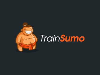 Train Sumo logo design