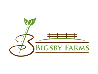 Bigsby Farms logo design