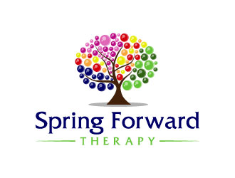 Spring Forward Therapy logo design