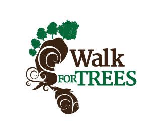 Walk for Trees logo design