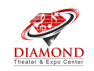 Diamond Theater & Expo Center logo design