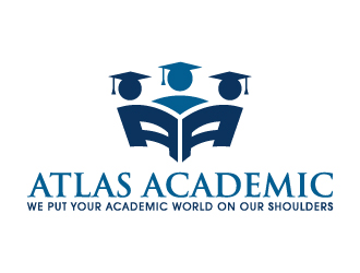 Atlas Academic Logo Design 48hourslogocom
