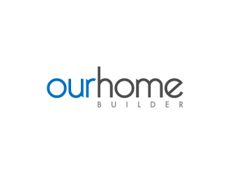 our home builder logo design