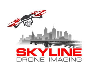 Skyline Drone Imaging logo design