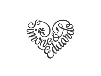 Wedding Logo: Simone & Eduardo Logo Design