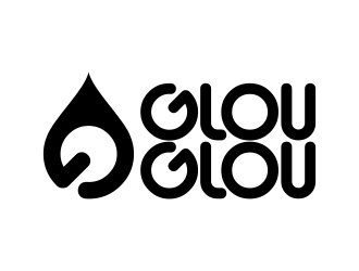 GLOU-GLOU logo design