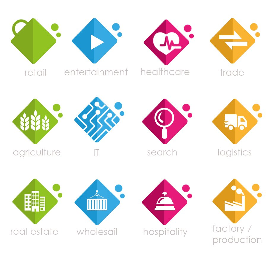 Industry Icons/Pictograms Needed logo design