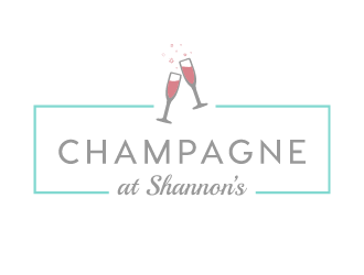 Champagne at Shannon's logo design