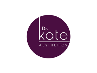 Dr. Kate aesthetics logo design