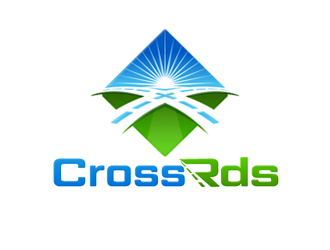 company name is Cross Rds logo design