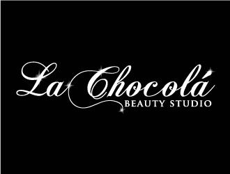 La Chocolá Beauty Studio logo design
