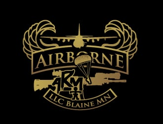 Airborne Arms logo design