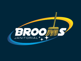 Brooms logo design