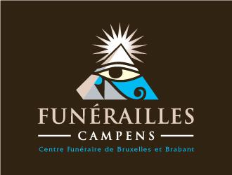 Funérailles Campens logo design