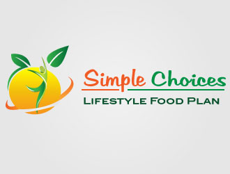 Simple Choices Lifestyle Food Plan logo design