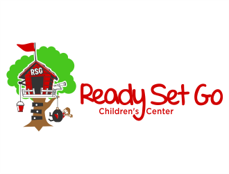Ready Set Go Children's Center logo design