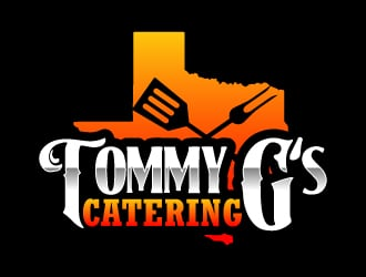 Tommy G's Catering logo design