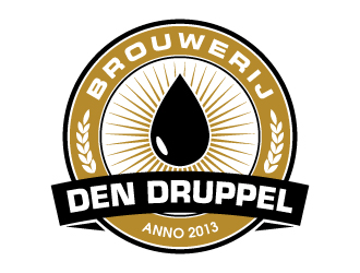 Den Druppel logo design