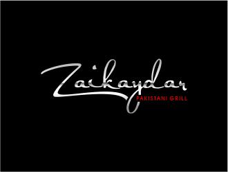 Zaikaydar-Pakistani Grill logo design