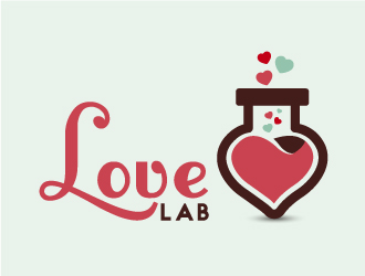 LoveLab logo design