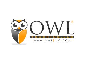 Owl Trucking, LLC logo design